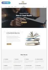 Booksmart Books For Rent Modern Multipage Html5 Website Template