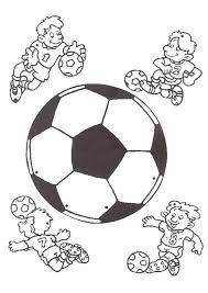 Voetbal Kleurplaten