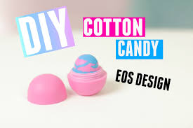 diy cotton candy eos design made with eos lip balm and crayons you