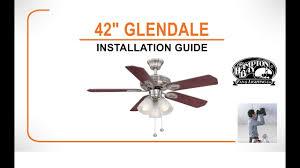42 glendale ceiling fan installation guide
