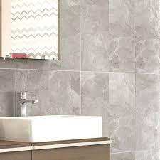 casca grey matt wall tiles 30 x 60cm 5 bathroom tile ideas for small
