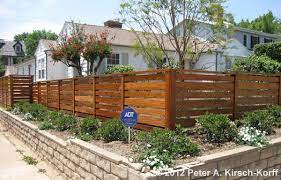 front yard fence design backyard fences