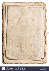 old papers isolated on white background antique book pages