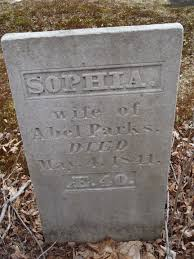Sophia Parks (Unknown-1841) - Find A Grave Memorial