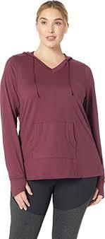 Aventura Clothing Womens Plus Size Zahara Solid Hoodie At