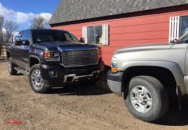 Old vs. New Diesels: 2016 GMC Sierra HD vs. 2002 Chevy Silverado ...