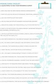 Wedding Flower Checklist Template | Laperlita Cozumel