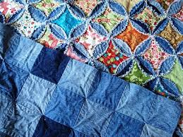 this is one of the denim quilt patterns I think is so yummy ... & A Passionate Quilter: Finished the Denim Cathedral Window Quilt! Adamdwight.com