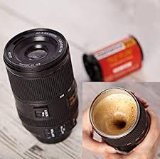 Buy Crazo <b>Fashion</b> Self Stirring Camera Lens <b>Shape</b> Coffee Mug ...