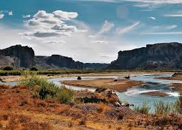 Resultado de imagen para imagenes lindas del río chubut