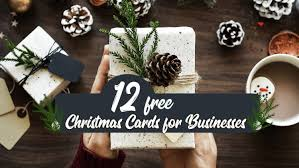 Business Christmas Card Template 12 Great Business Christmas Cards Templates From Designpro Free