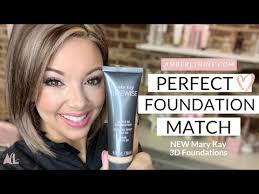 Perfect Foundation Matching With Mary Kay New Timewise 3d
