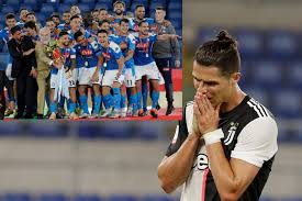 Coppa italia match napoli vs juventus 17.06.2020. Cristiano Ronaldo Does Not Get To Take Penalty As Napoli Beat Juventus In Shootout To Win Coppa Italia
