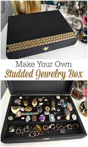 studded diy jewelry box darice