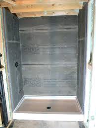 cement board for shower shower pan cement board installation inc basement bathroom 2 waterproofing cement board
