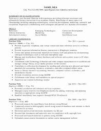 Library Resume Resume Format For Librarian Fresh Library Resume Sample Childrens 5