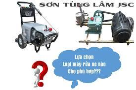 Mua máy rửa xe loại nào tốt nhất hiện nay, các dòng máy rửa xe mini giá rẻ  hiện nay có tại Sơn Tùng Lâm