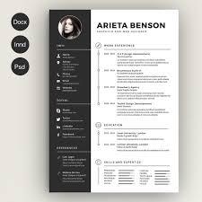 Resume Creative Templates Free Free Resume Template 1 Professional