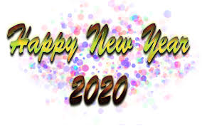 Happy New Year Png Image 2020 Png Background