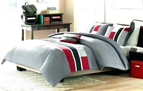 full size of brown and white rugby stripe bedding red gray comforter grey stripes printing set