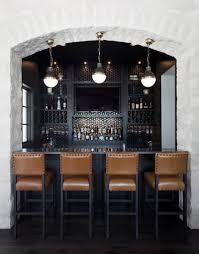 transitional home bar by natalie howe design