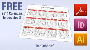 Calendar Free Downloads Free Download 2014 Calendar In Pdf Illustrator Ai Indesign
