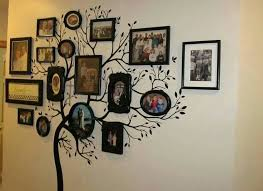 diy family tree wall mural view in gallery family tree wall art home interior design pictures