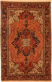 homey orange persian rug oriental roselawnlutheran
