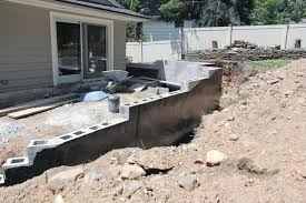 supporting a deck with a retaining wall professional deck builder hardscape anchors design contracts new jersey