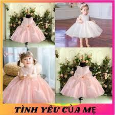 Váy Trẻ Em Công Chúa Evelyn Thời Trang Cho Bé Gái 0-9 Tuổi Mặc Dự Tiệc Sinh  Nhật tốt giá rẻ