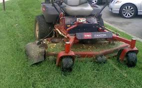 windrows of grass not going to damage lawn it s not clumps not pressed to the ground and easy to deal with most of the time it can be blown off