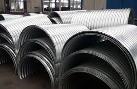 corrugated steel culvert pipe for culvert repair 3