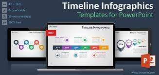 Powerpoint Infographic Template Free Timeline Infographics Templates For Powerpoint