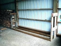 firewood holder outdoor wood racks plans threshold storage rack menards ood rac