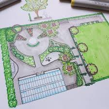 Small Picture 714 best Garden plans images on Pinterest Landscape design