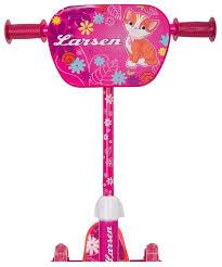 Купить Городской <b>самокат Larsen Girl GS-002A-RB</b> розовый по ...