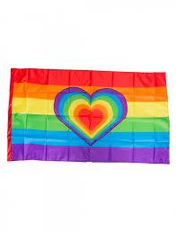 Einmal sind wir losgezogen, wir suchten das. Flagge Regenbogen Mit Herz 150x90cm Zum Csd Kaufen Deiters