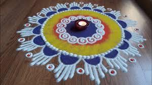 Diwali Rangoli Designs Sanskar Bharti Rangoli Designs With Colours By Shital Daga Sanskar Bharti