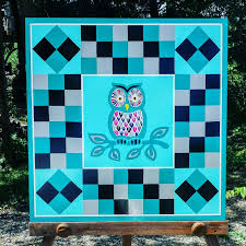 Wise Old Owl Barn Quilt | Buy a Barn Quilt | Pinterest | Barn ... & Wise Old Owl Barn Quilt Adamdwight.com