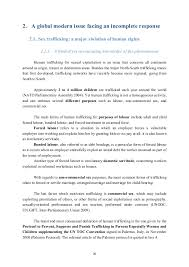 policy paper the fight against human trafficking for sexual exploita