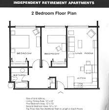 Small 2 Bedroom Apartment Floor Plans
