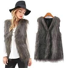 faux fur vest plus size get ations a winter coat women thick warm faux fur vest
