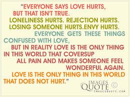 everyone says love hurts love e