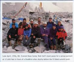 Into Thin Air A Personal Account Of The Mt Everest Disaster By