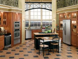 Checkered Kitchen Floor Cork Flooring For Your Kitchen Hgtv