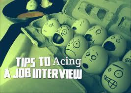 tips to acing a job interview life coach hub