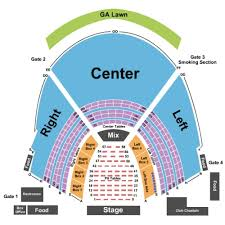 Chastain Park Atlanta Seating Chart Chastain Park Amphitheatre Seating Chart No Tables Problem