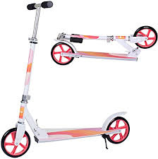 Adult Scooter,<b>Lightweight</b> Easy Folding <b>Kick Scooter</b> with ...