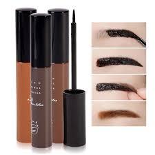 best makeup cosmetics 3 colors waterproof dye eyebrow mascara cream eye brow gel make up kit make it natural thick