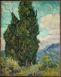 vincent van gogh cypresses the met cypresses vincent van gogh dutch zundert 1853 1890 auvers sur